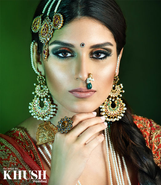 indian bridal, bridal makeup artist, wedding makeup, khush magazine