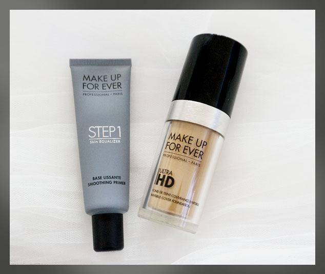 makeup forever ultra hd foundation and primer