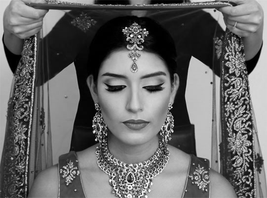 bridal makeup artist leicester